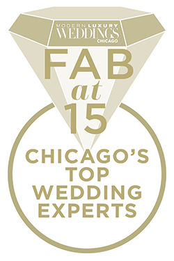 Modern Luxury Weddings Chicago FAB at 15