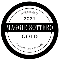 A Featured 2021 Maggie Sottero Gold Authorized retailer
